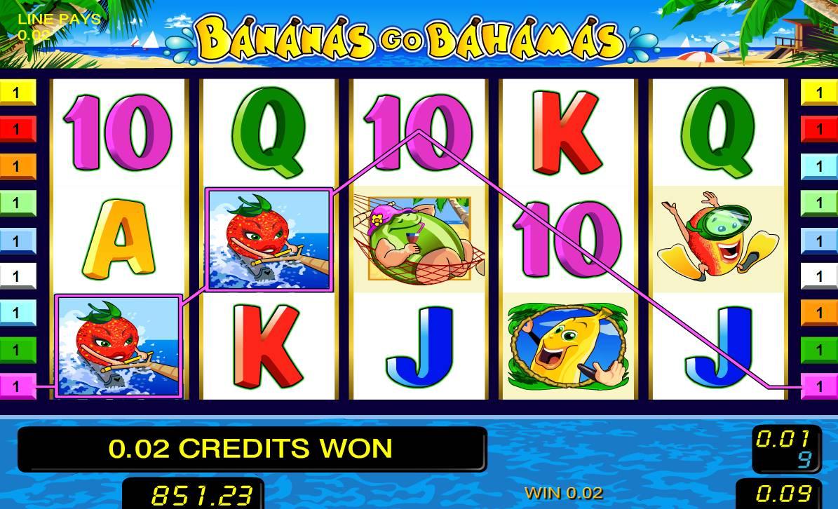go bananas описание игрового автомата